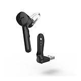 Casca bluetooth Hama MyVoice 1300, in ear, Multipoint, Control vocal, Negru