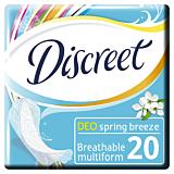 Absorbante Discreet Deo Spring Breeze Multiform 20buc