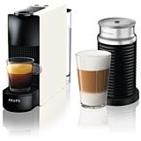 Espressor Nespresso Essenza Mini si Aeroccino XN111110 by Krups, 19 bar, alb