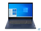 Laptop Lenovo IdeaPad 3 17IIL05, procesor Intel Core i3-1005G1 pana la 3.40 GHz, ecran 17.3, HD+, 8GB DDR4, 256GB SSD, Intel UHD Graphics, Windows 10 Home, Blue
