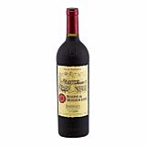 Vin rosu Monsieur Louis Reserve, sec, 0.75 L
