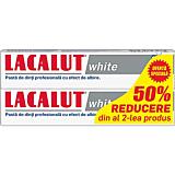 Set pasta de dinti Lacalut White, 2x75 ml