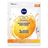 Masca servetel Q10 cu vitamina C Nivea