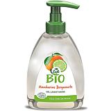 Gel curatare maini, Les Cosmetiques Bio, mandarine, 300 ml
