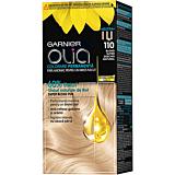 Vopsea de par permanenta fara amoniac, Garnier Olia, 110 Blond Super Deschis Natural, 112 ml