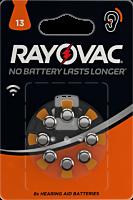 Baterii auditive V13, 8 bucati, Rayovac