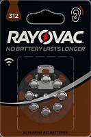 Baterii auditive V312, 8 bucati, Rayovac