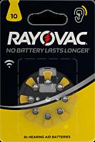 Baterii auditive V10, 8 bucati, Rayovac