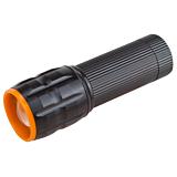 Lanterna cu 1 LED Evotools, 3 moduri de iluminare, plastic, Negru