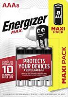 Set 8 baterii Energizer Alcaline MAX R03/AAA