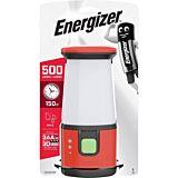 Lanterna camping Energizer, protectie IPx4, 500 lumeni, Portocaliu