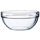 Bol 20 cm suprapozabil sticla transparenta, Luminarc