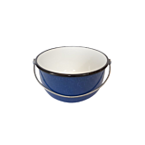 Ceaun cu maner sarma 24 cm, 5.25 L, albastru