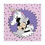 Set 20 servetele party Minnie, 33 x 33 cm