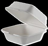 Set 8 caserole biodegradabile 15x15 cm, 600 ml