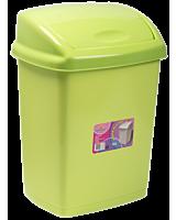 Cos gunoi cu capac batant 18 L, verde