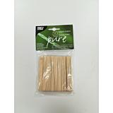Set 50 furci lemn 8.5 cm biodegradabile