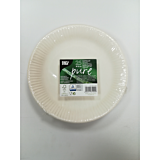 Set 25 farfurii 23 cm biodegradabile
