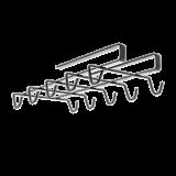 Suport cani pentru polita dulap(maxim 10),14x28x6cm, Touch-Therm