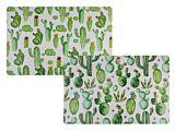 Protectie de masa Bookidz, design cactus, 43.5x28.5cm, 2 modele