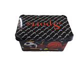 Cutie depozitare model Sport Violet, cu capac, PP, 39x29x23 cm, 20 L, Multicolor