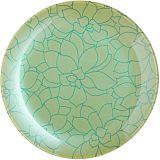 Farfurie pentru desert Fleurs de Bach Luminarc, sticla decorata, 20 cm