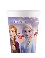 Frozen set 8 pahare carton 200cc, compostabile