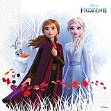 Frozen set 20 servetele party, 33 x 33 cm, 3 straturi, compostabile