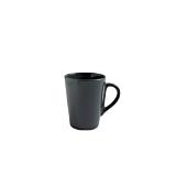 Ceasca Cesiro, ceramica, 250 ml, Gri inchis