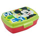 Cutie de sandwich Mickey Mouse, plastic, Multicolor