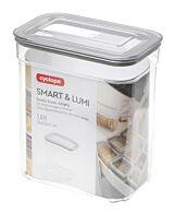 Cutie pentru depozitare alimente vrac Smart & Lumi Cyclops, 1.6 L, Transparent