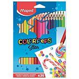 Creioane colorate Maped 36 buc