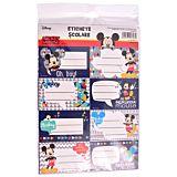 Set 40 etichete scolare Mickey Mouse, Multicolor