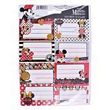 Set 40 etichete scolare Minnie Mouse, Multicolor