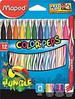 Carioca Maped color'peps 12/set jungle