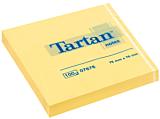 Notite Tartan galben 76x76 mm