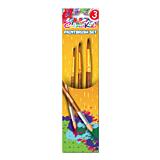 Pensule cu varf ascutit nr. 3/7/11, set 3 bucati, Colour Kids