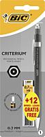 Creion mecanic Criterium 0.7mm + 12 mine 0.7 mm