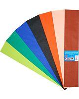 Hartie creponata Savcom, 50x200 cm, diferite culori