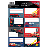 Etichete scolare 40/Set Cars 3