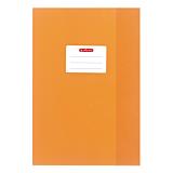Invelitoare A4 plastic, portocaliu, Herlitz