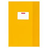 Invelitoare A4 plastic, galben, Herlitz