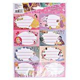 Set 40 etichete scolare Disney Princess Pigna, Multicolor