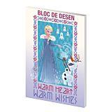 Bloc desen A4 Frozen Pigna, 16 file, 160 g
