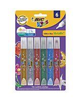 BIC Kids Glitter Glue 6 buc