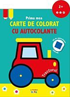Prima mea carte de colorat cu autocolante. Tractorul