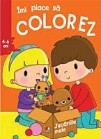 Imi place sa colorez. Jucariile mele (4-6 ani)