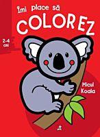 Imi place sa colorez. Micul koala (2-4 ani)