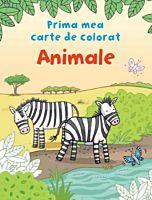 Prima mea carte de colorat. Animale