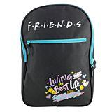 Ghiozdan scolar cu licenta Friends, 1 compartiment principal, 1 buzunar frontal, Multicolor